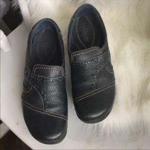 Clarks comfy slip-on shoes